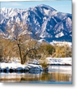 Colorado Flatirons 2 Metal Print