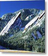 All Five Colorado Flatirons Metal Print