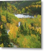 Colorado Lake And Colors Metal Print