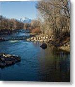 Colorado Mountain Stream Metal Print