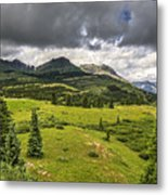 Colorado Mountains After Summer Rain Metal Print