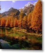 Colorado Nature Metal Print