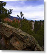 Colorado Red Rocks Metal Print by Barbara Schultheis