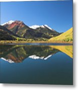 Colorado Reflections Metal Print