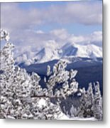 Colorado Sawatch Mountain Range Metal Print