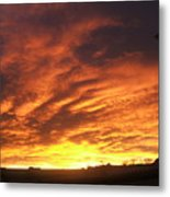 Colorado Sunrise 4 Metal Print