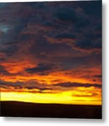 Colorado Sunrise February Metal Print
