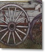 Colorado Wheels Metal Print