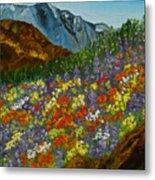 Colorado Wildflowers Metal Print