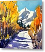 Colorado Winter 1 Metal Print