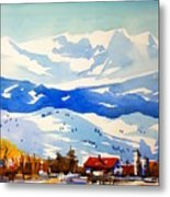 Colorado Winter 3 Metal Print