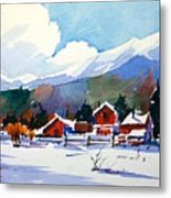 Colorado Winter 8 Metal Print