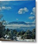 Colorado Winter Metal Print