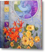 Colordance Of Summer Metal Print
