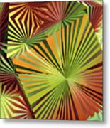 Colored Box Abstract Metal Print