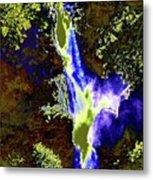 Colored Falls  Metal Print