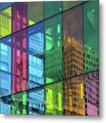 Colored Glass 10 Metal Print