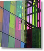 Colored Glass 11 Metal Print