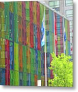 Colored Glass 12 Metal Print