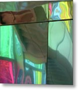 Colored Glass 14 Metal Print