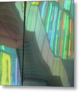 Colored Glass 15 Metal Print