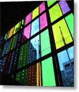 Colored Glass 3 Metal Print
