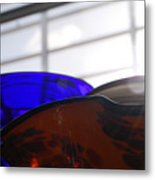 Colored Glass Horizon Metal Print