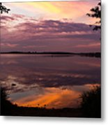 Colored Reflections Metal Print