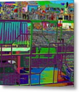 colorfication of Chinatown  Metal Print