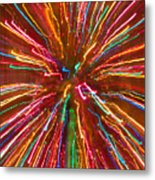 Colorful Abstract Photography Metal Print