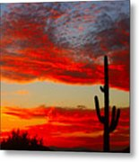 Colorful Arizona Sunset Metal Print