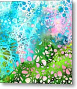 Colorful Art - Enchanting Spring - Sharon Cummings Metal Print