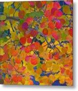 Colorful Aspen Metal Print