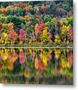 Colorful Autumn Reflections Metal Print