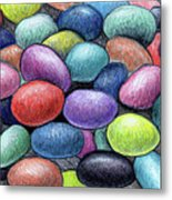 Colorful Beans Metal Print