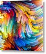Colorful Beauty Metal Print