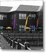 Colorful Boardwalk Metal Print