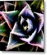 Colorful Cactus Metal Print