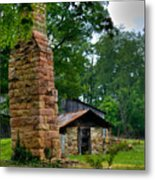 Colorful Chimney Metal Print