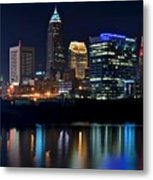 Colorful Cleveland Metal Print