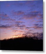 Colorful Clouds In The Sky Metal Print
