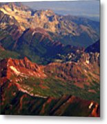 Colorful Colorado Planet Earth Metal Print