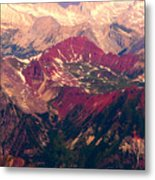 Colorful Colorado Rocky Mountains Metal Print