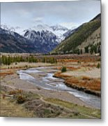 Colorful Colorado Valley Metal Print