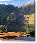 Colorful Connemara Landscape Ireland Metal Print