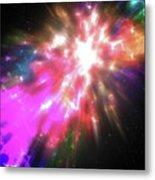 Colorful Cosmos Metal Print