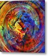 Colorful Crash 10 Metal Print