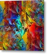 Colorful Crash 11 Metal Print