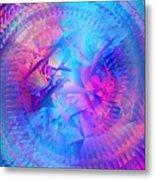 Colorful Crash 7 Metal Print