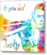 Colorful Dirty Harry Metal Print